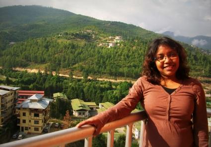 Me in Thimphu Bhutan