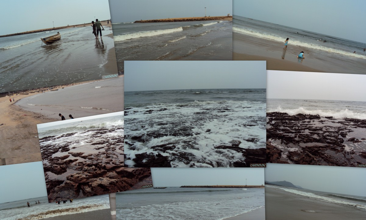 Collage: A Short Trip to Port City Vizag