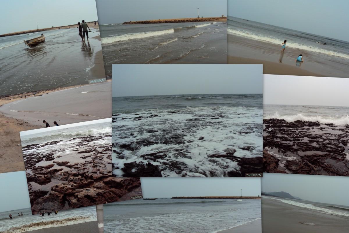 Rishikonda beach Vizag