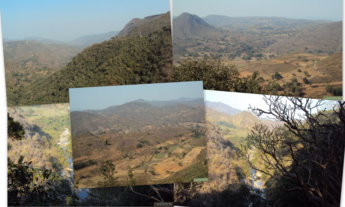 Araku valley, Vizag, gala viewpoint,
