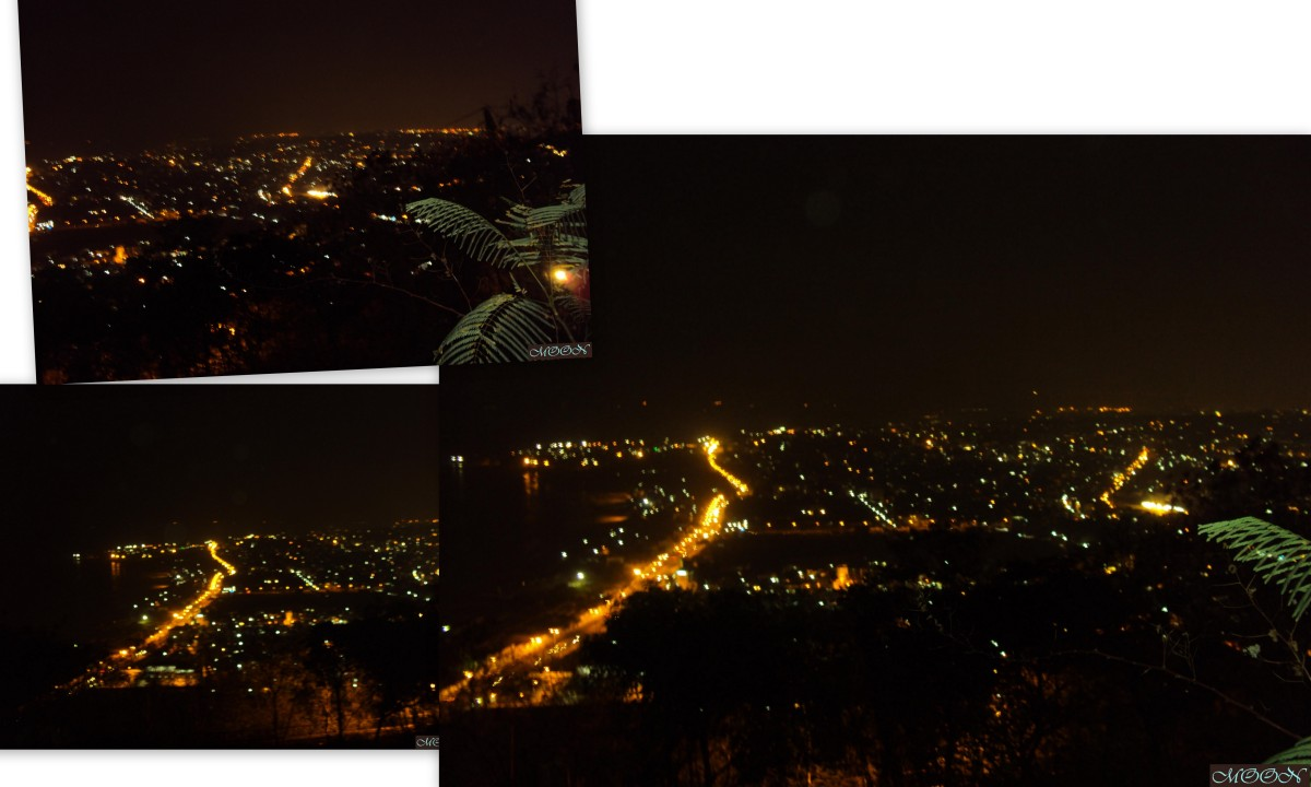 Vizag city, vizag at night