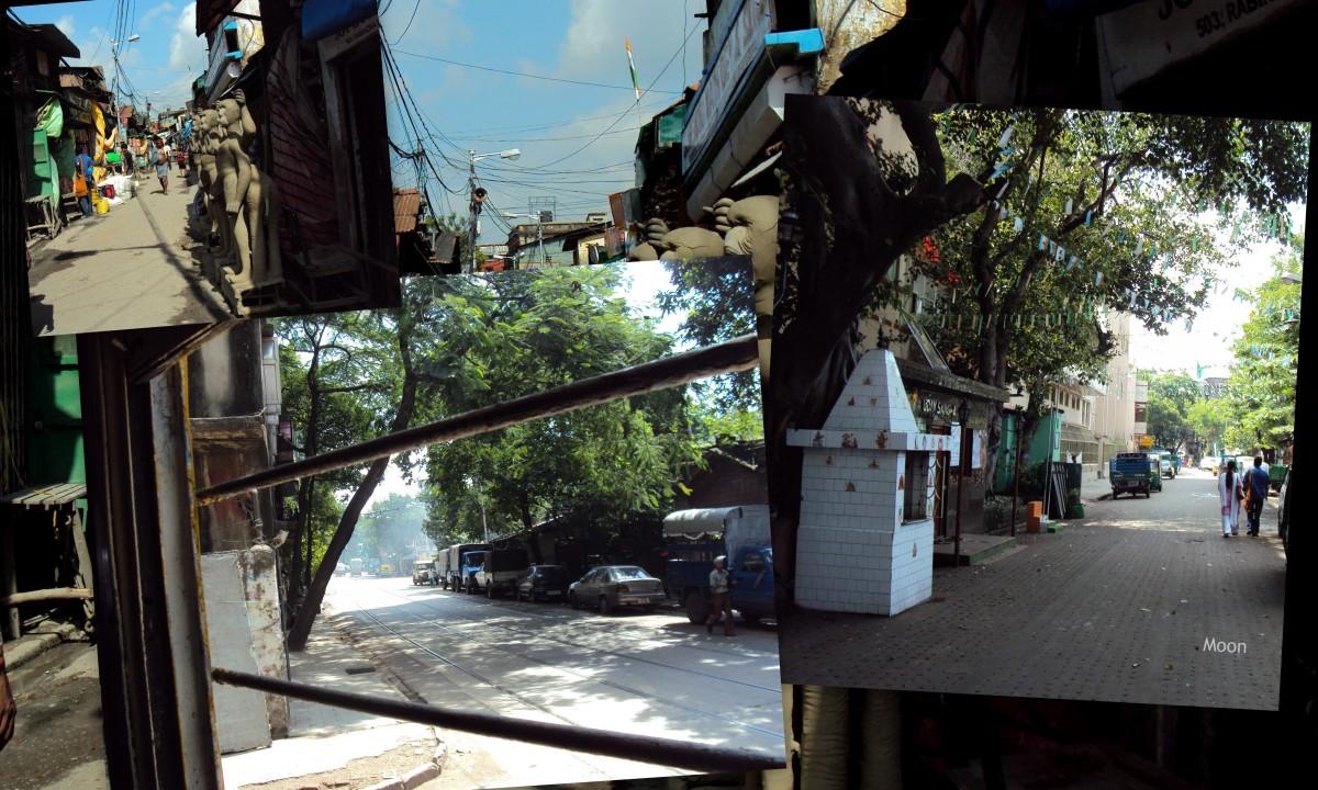 kolkata, north kolkata streets