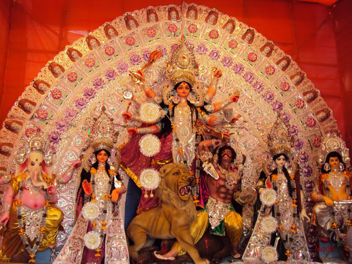 Durga Puja 2010: Kolkata Dazzled in the Light of Festivity