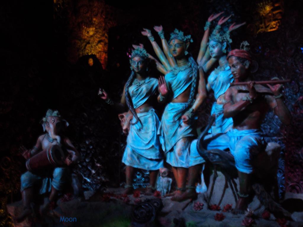 durga puja 2010 idols
