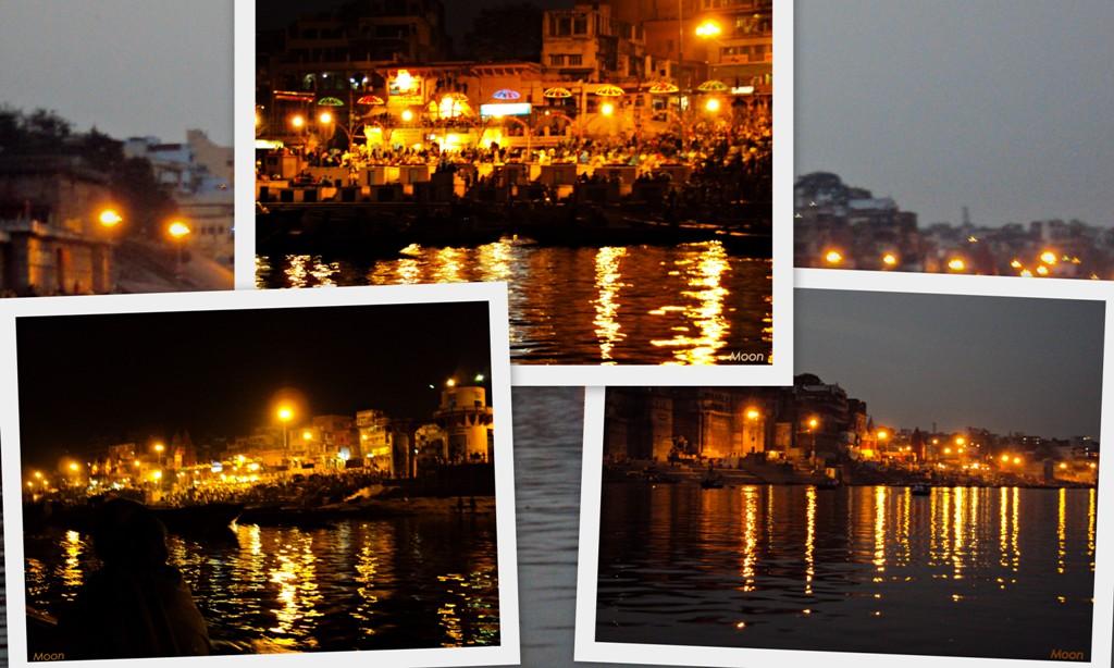 Aarti, Dasaswamedh Ghat, Ganges, Varanasi, Uttar Pradesh