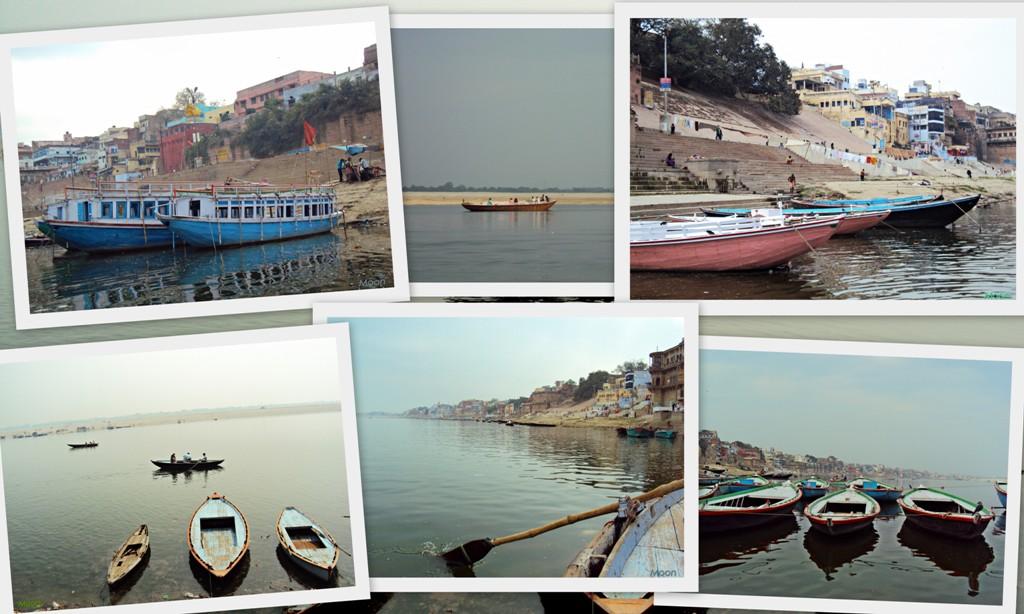 Boat ride Varanasi, Ghats, Uttar Pradesh