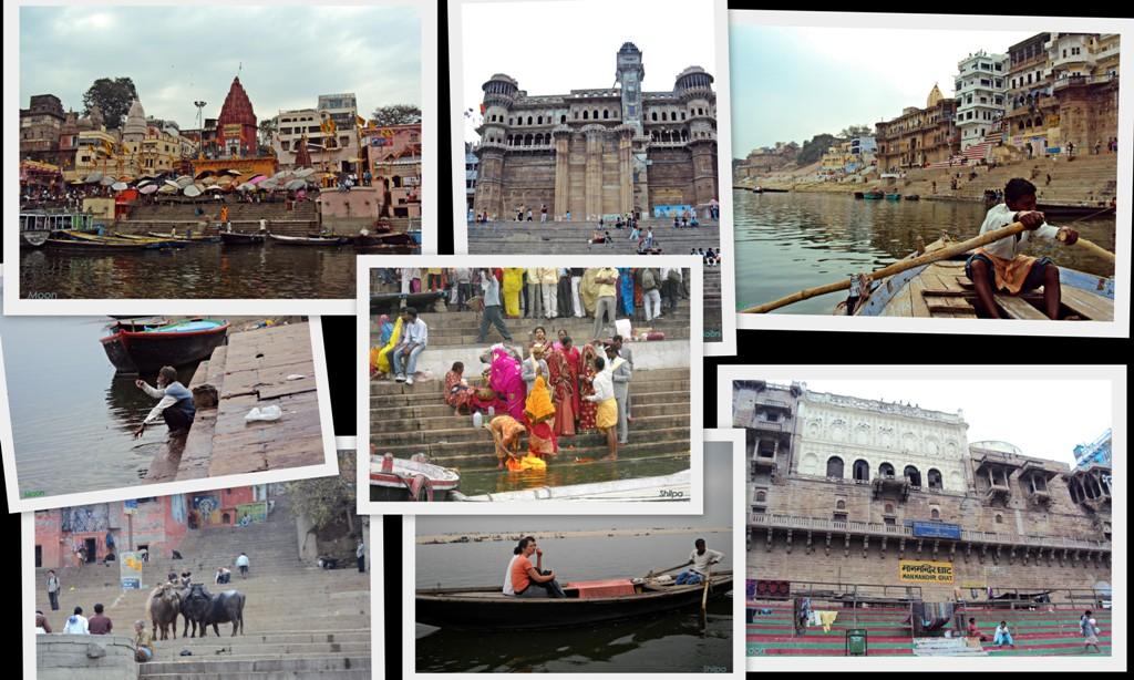 Varanasi, Ghats, Ganges, Banaras, Benares, Uttar Pradesh