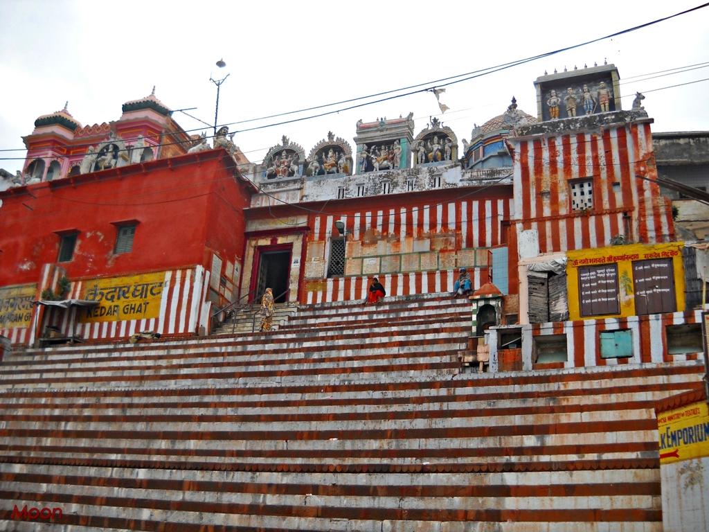 Kedar Ghat, Varanasi, Banaras, Ganges, Uttar Pradesh