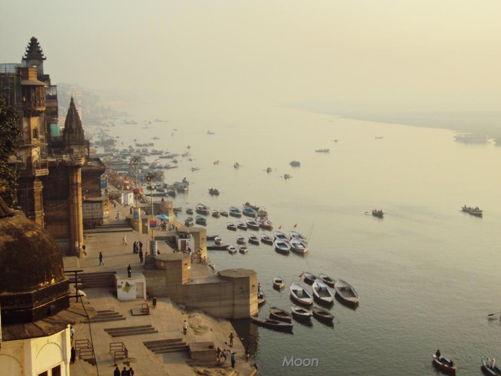 Ghats, Ganges, Varanasi, Banaras, Benares, Uttar Pradesh