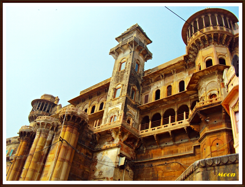 old mansion, Varanasi