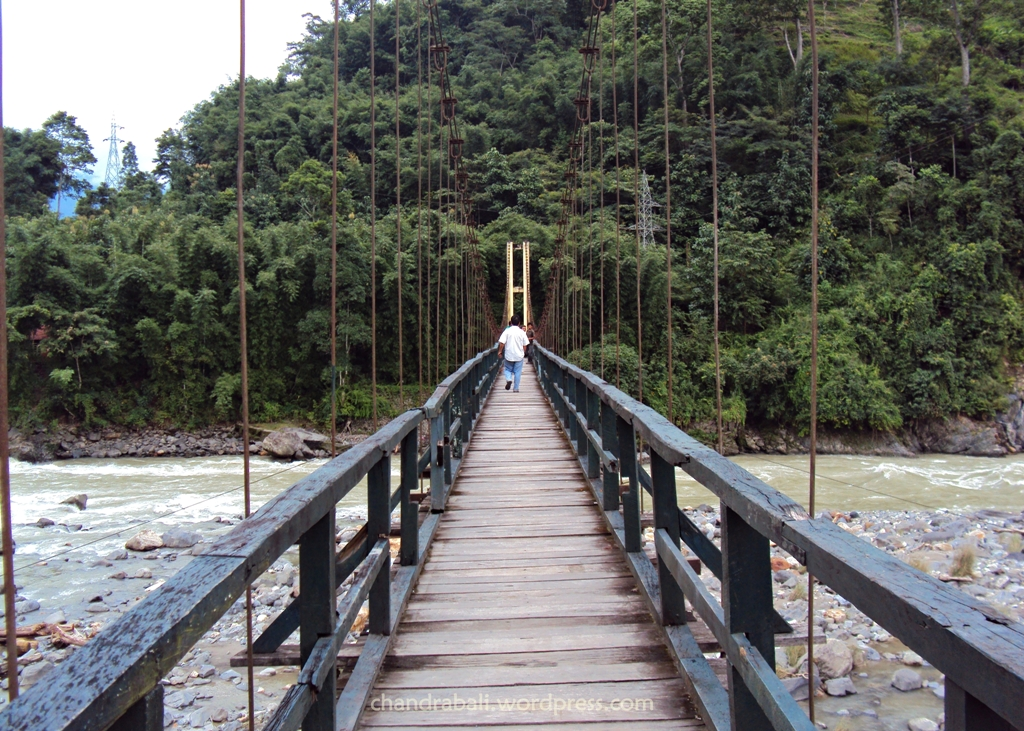 The bridge on River Ringit, Namchi, Sikkim