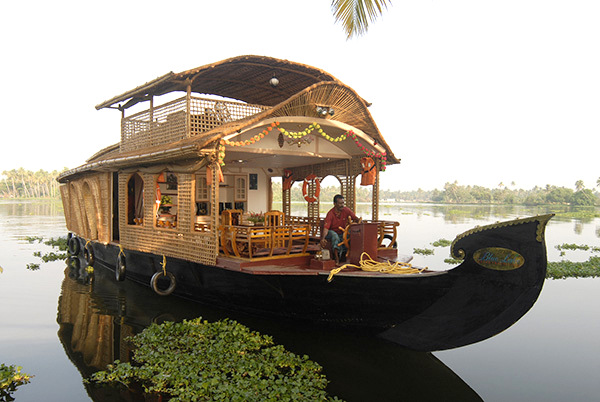 House boat in Alleppey, Boat house, Alleppey, Kerala, Backwaters, Monsoon