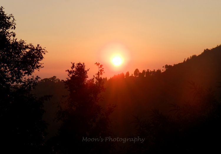 Sunset, Nainital, Lake District, Kumaon, Uttarakhand