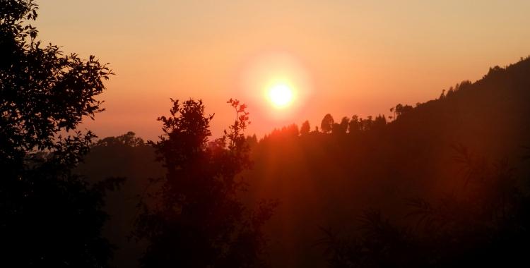 Sunset, Nainital, Lake District, Kumaon, Uttarakhand