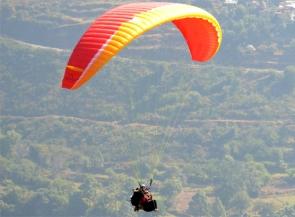 Adventure, Paragliding, Bhimtal, Kumaon, Uttarakhand
