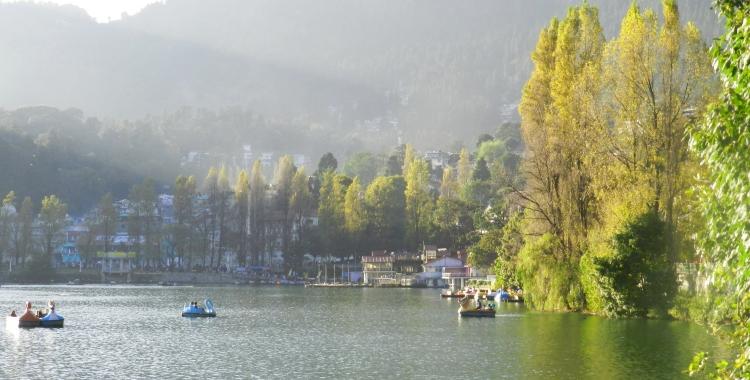 Nainital, Lake District of India, Kumaon Himalayas, Uttarakhand
