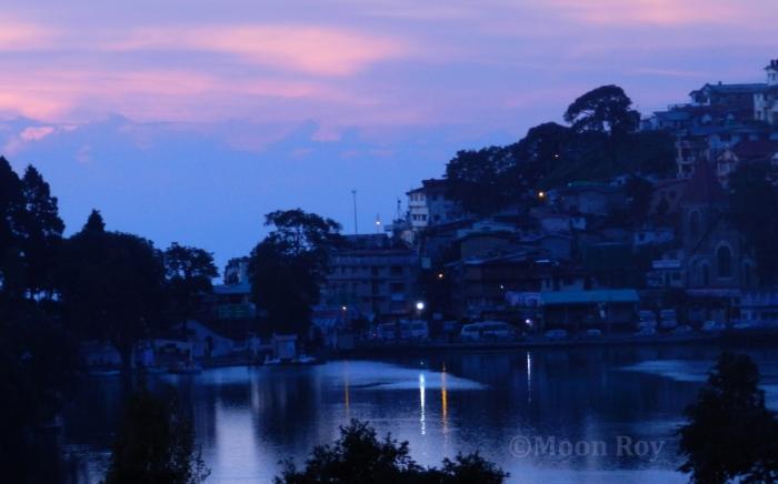 Nainital Lake, Dawn, Kumaon, Uttarakhand