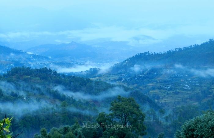 Himalayas, peak, resort, Kausani, Almora, Kumaon, Uttarakhand