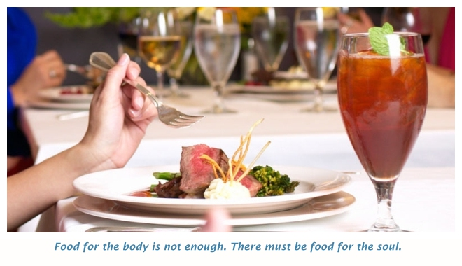 Travel - develop taste for different foods