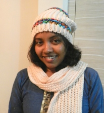 woolen cap and neck-scarf, Shopping in Nainital