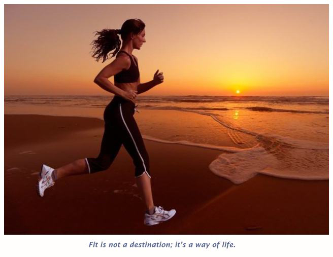 stay fit and keep travelling