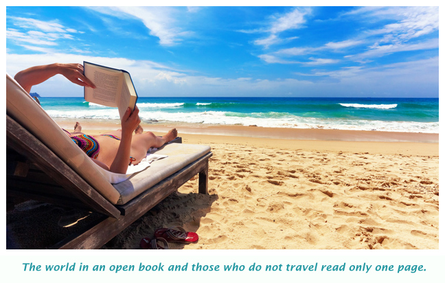 Travelling - World is an open book
