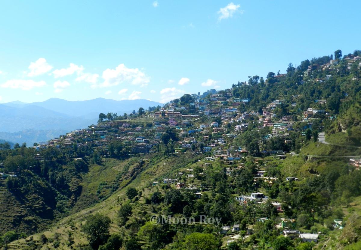 Almora town, Kumaon, Uttarakhand