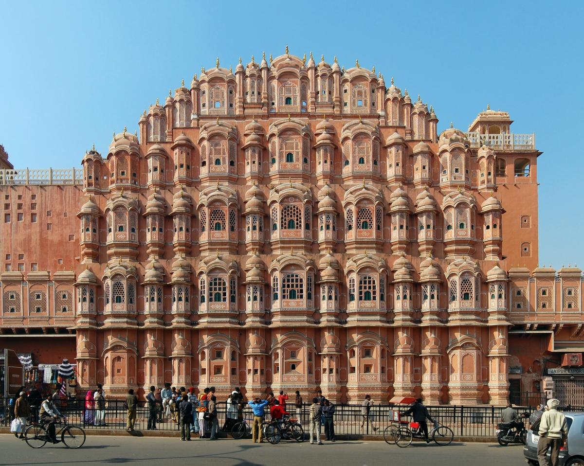 jaipur, hawa mahal, palace of the winds