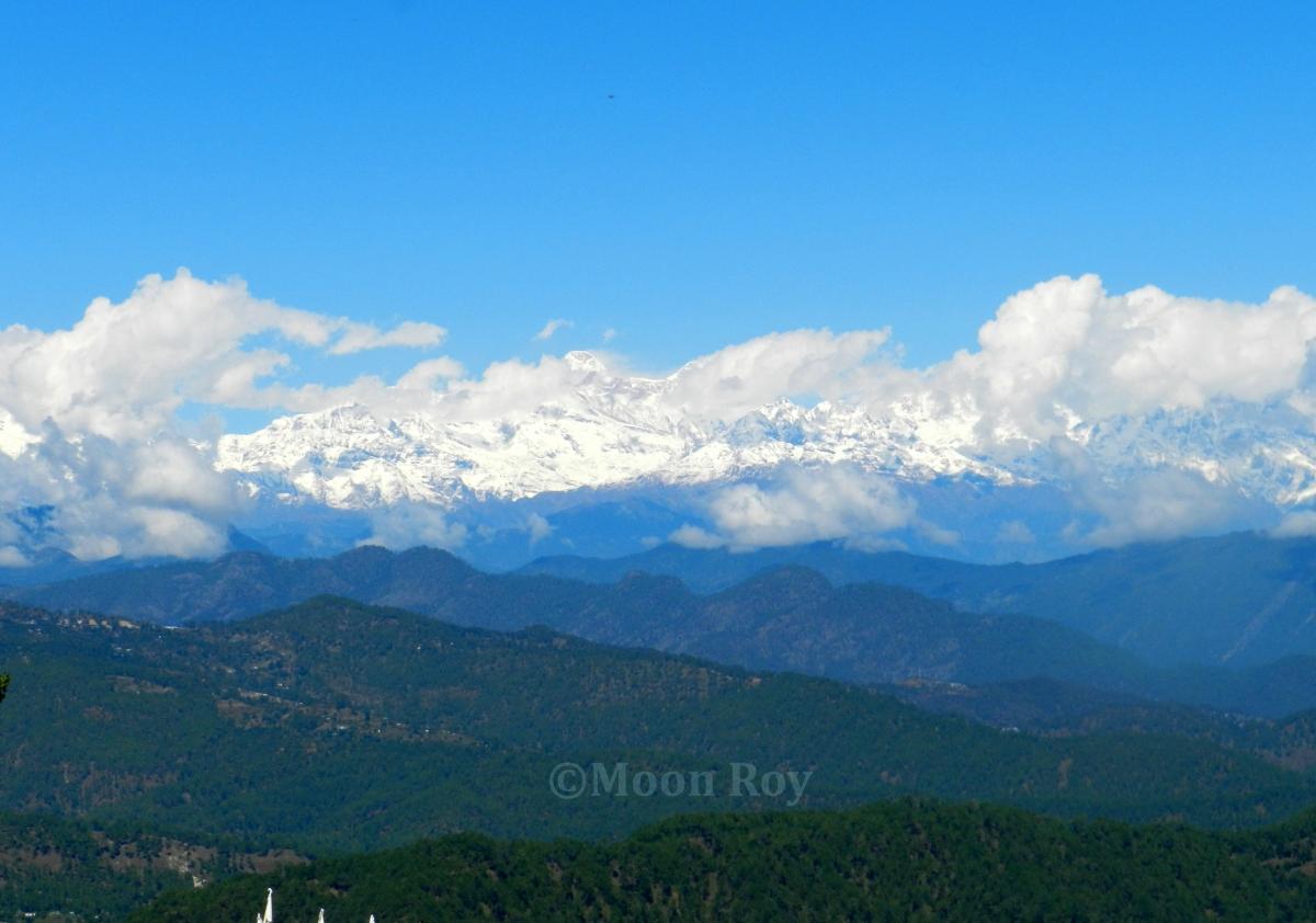 Himalayan peaks, Almora, Kumaon