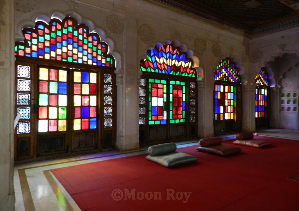 meeting room, Meherangarh fort, jodhpur, Rajasthan