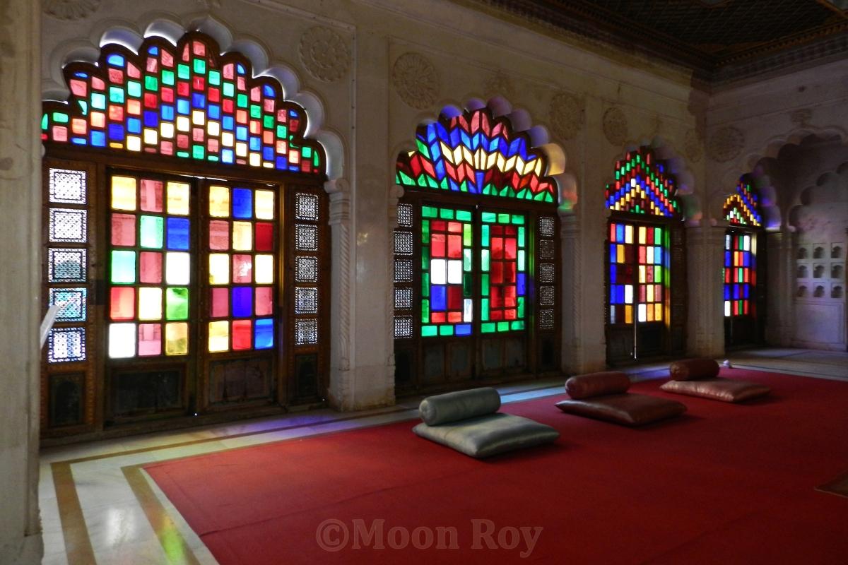 meeting room, Meherangarh fort, Rajasthan