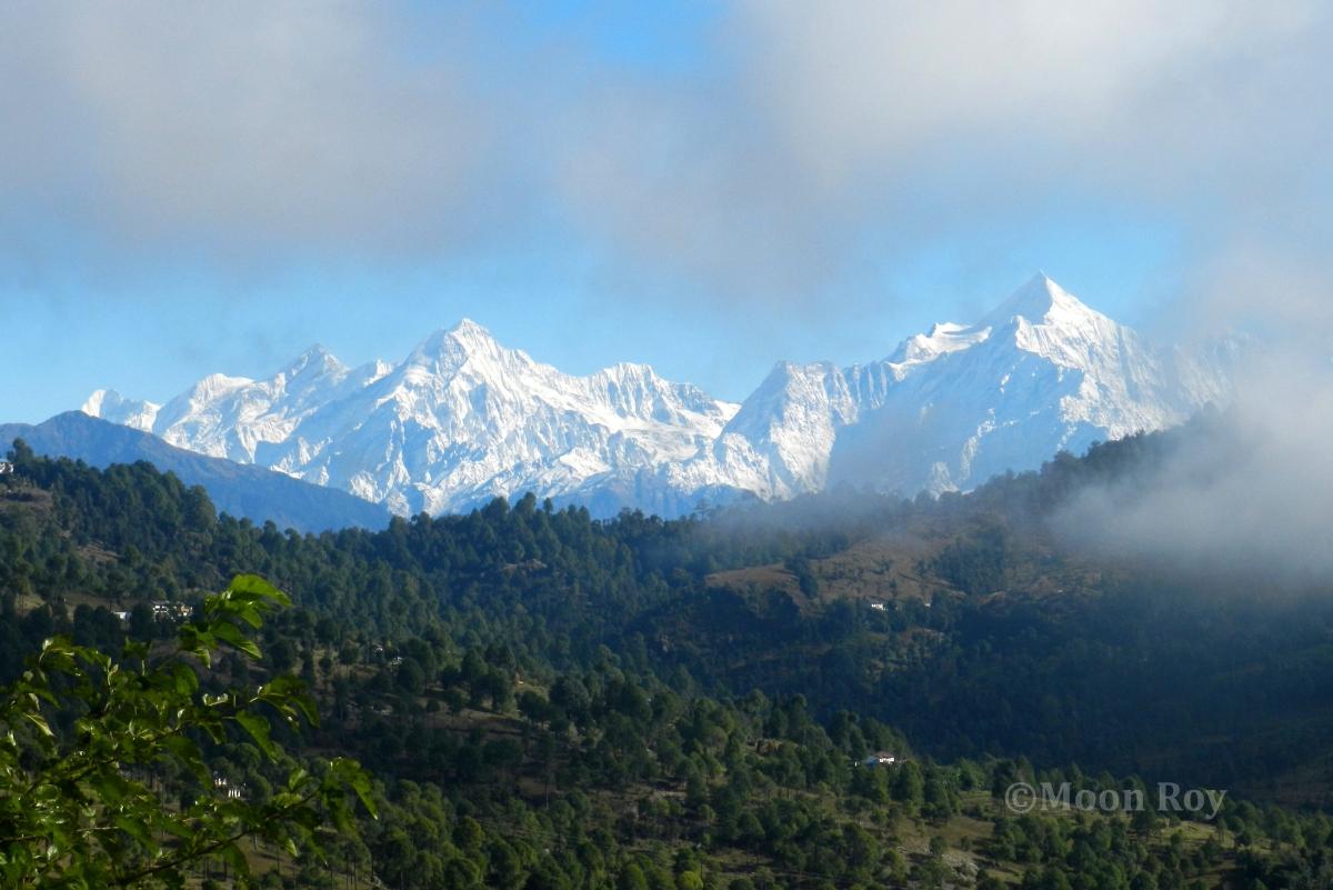 Himalayan peaks, Nandakot