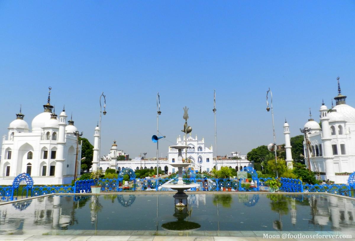 Taj Mahal replica, Chota Imambara, Lucknow, mausoleum