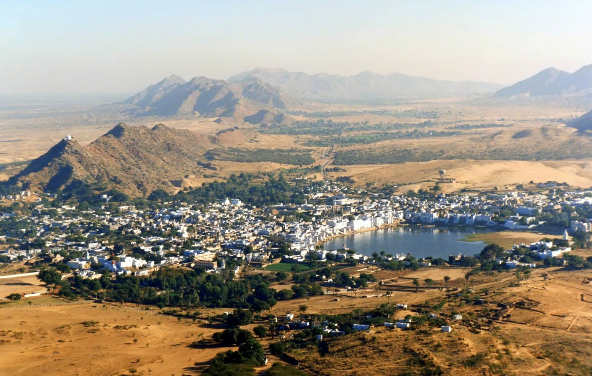 Savitri temple trek Pushkar, panoramic view Pushkar