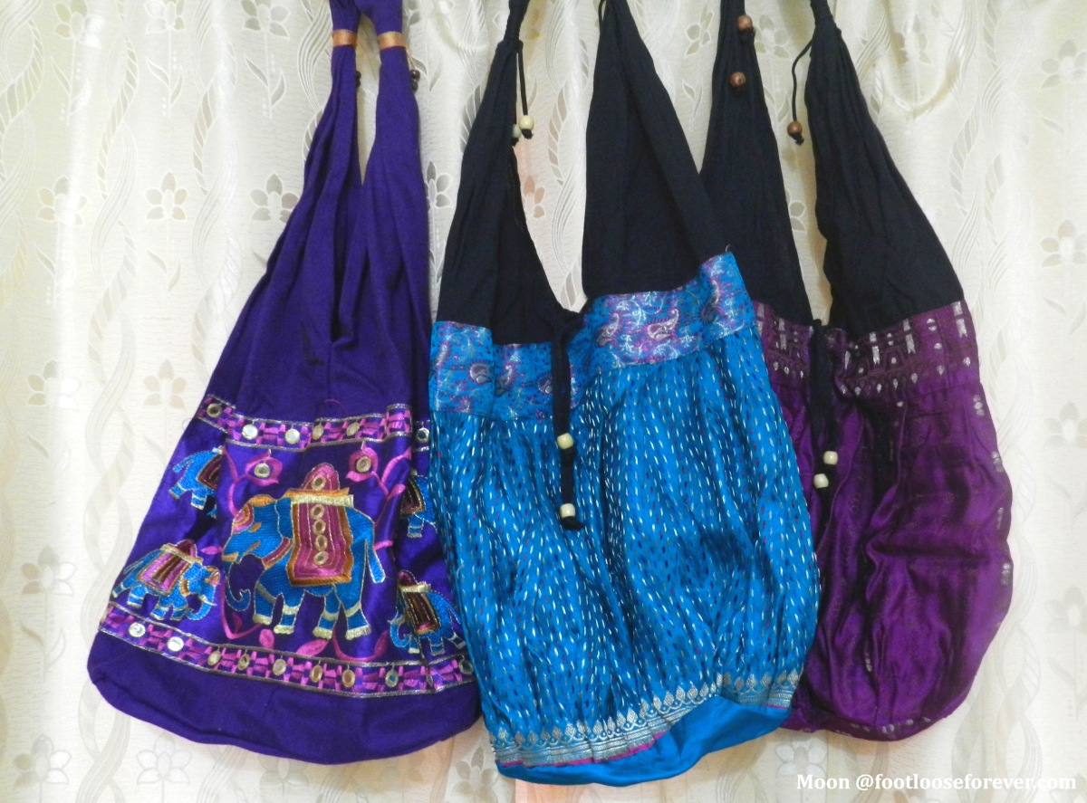 shopping in Pushkar, handmade tote bags pushkar