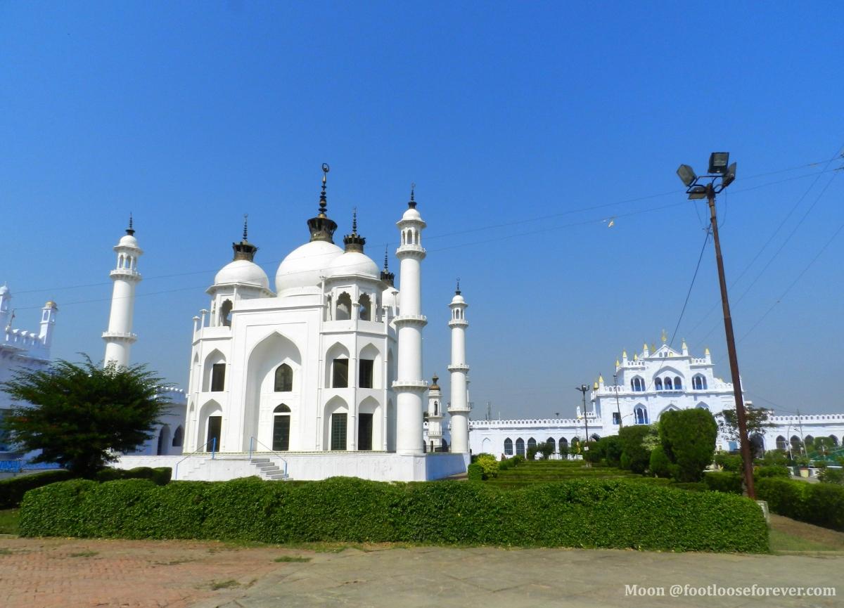 Taj Mahal replica, Mausoleum, tomb in Chota Imambara, Lucknow
