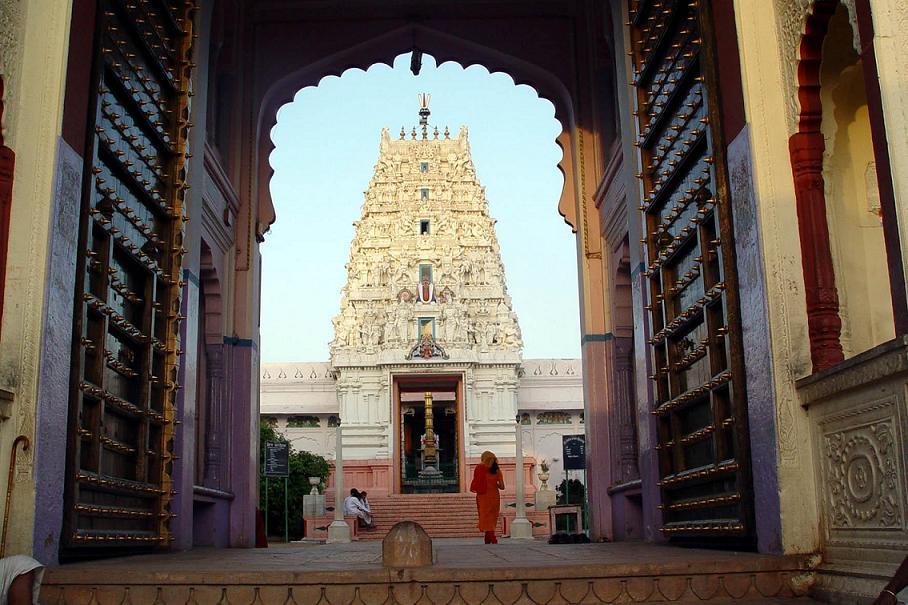 Vishnu temple Pushkar, Pushkar vishnu temple, Rangji temple