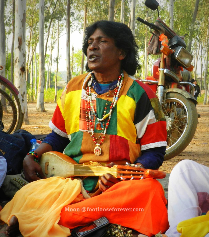 baul, folk singer, khoai, shantiniketan
