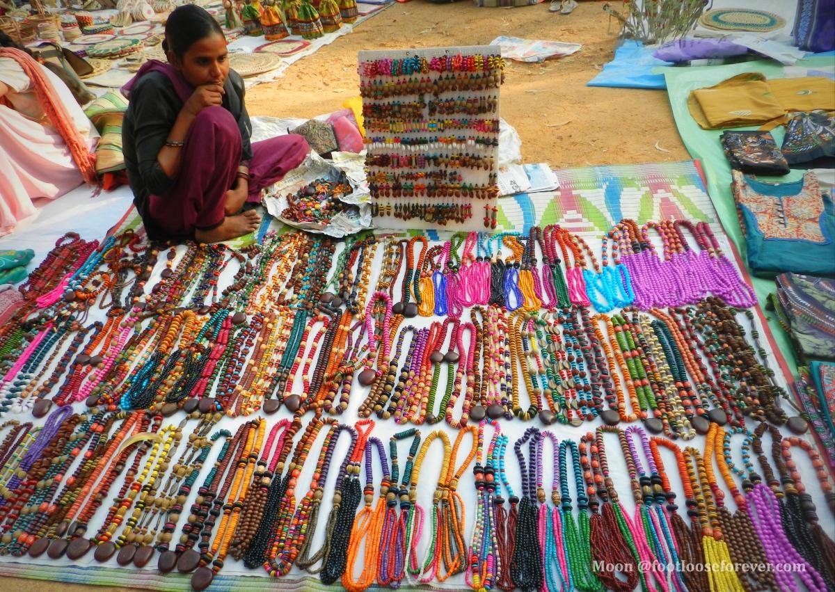 ethnic jewellery, khoai mela, shanibarer haat, shantiniketan