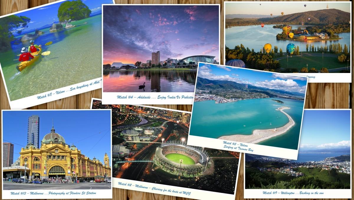 ICC Cricket world cup 2015 tour