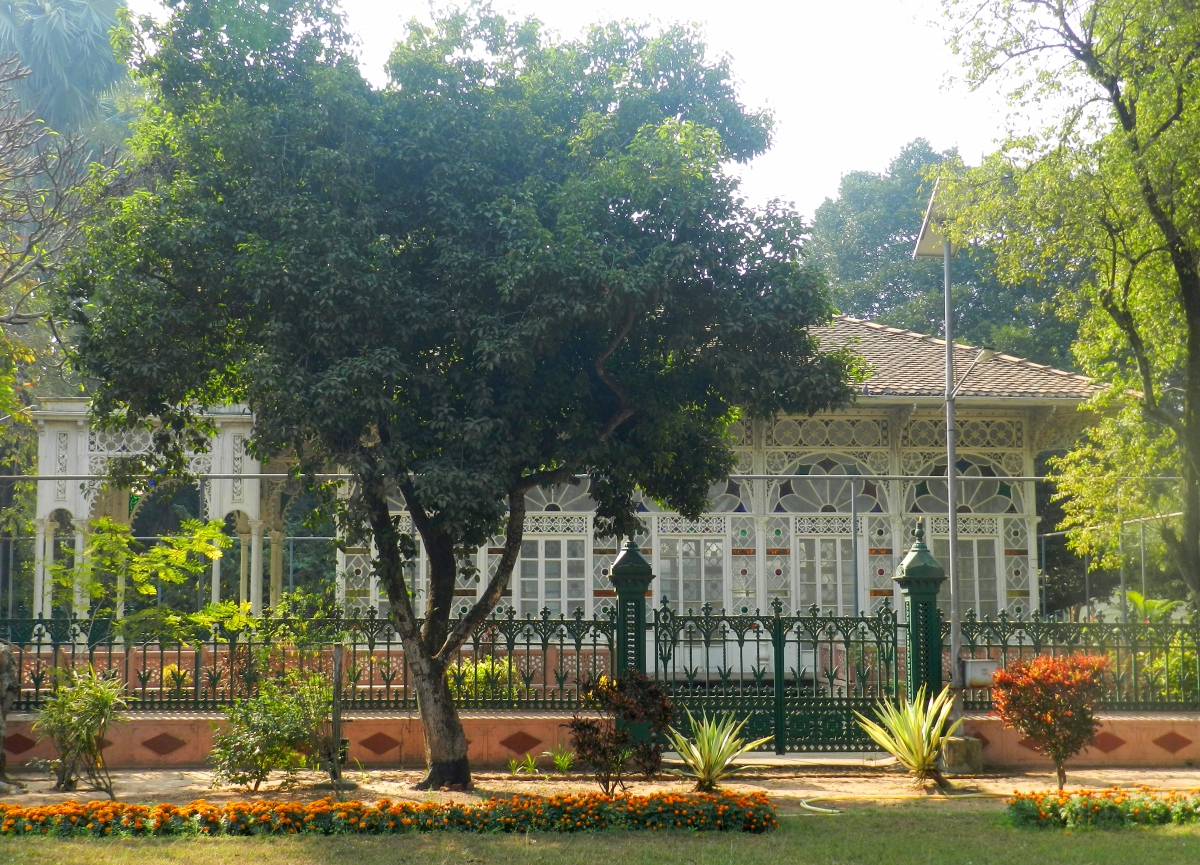 prayer hall, visva bharati, shantiniketan