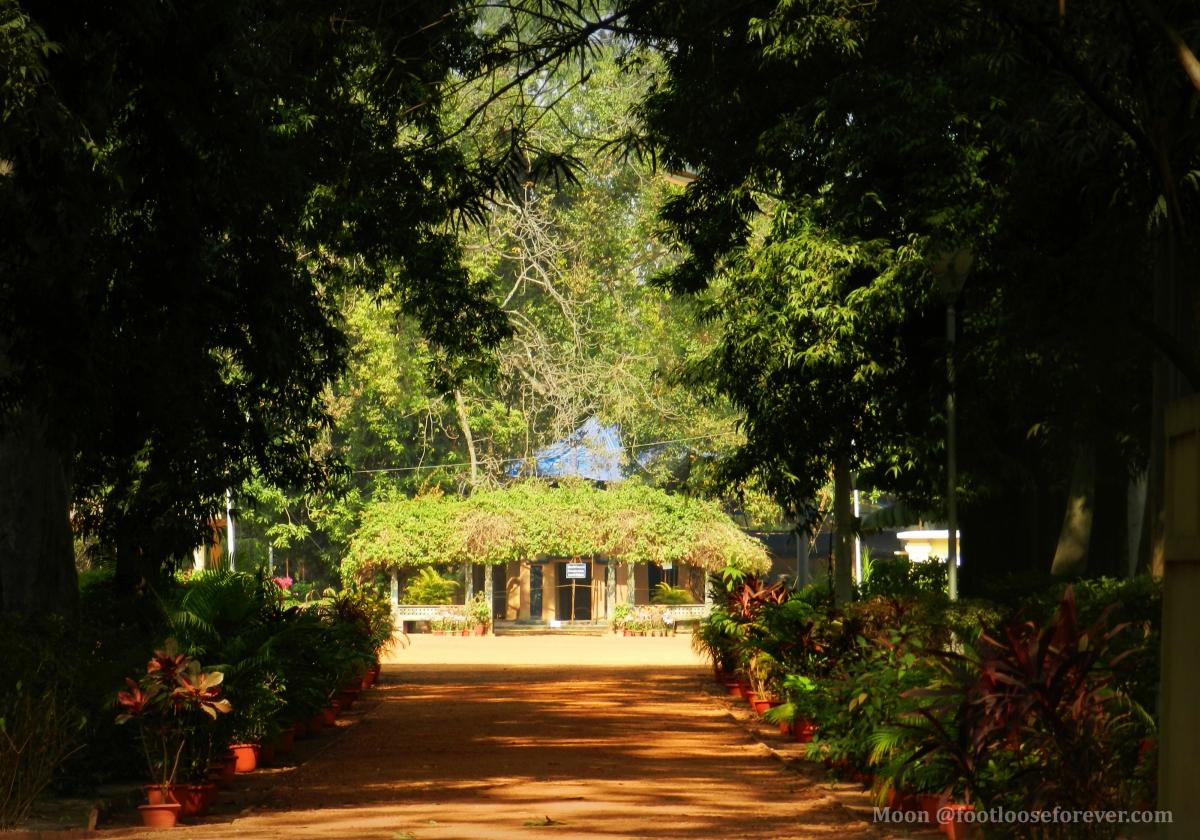 shyamali, Uttarayan complex, shantiniketan, tagore's house