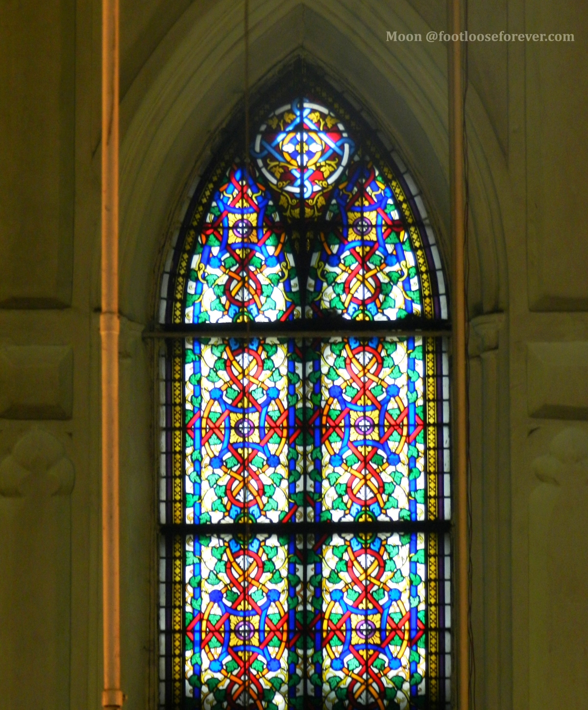 stained glass window, St Paul's Cathedral, church, kolkata, kolkata sightseeing, kolkata tour