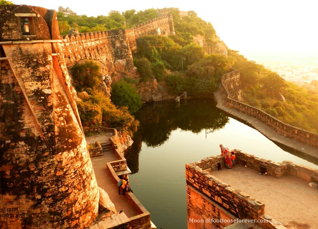 gaumukh reservoir, chittor, chittorgarh, chittor attractions