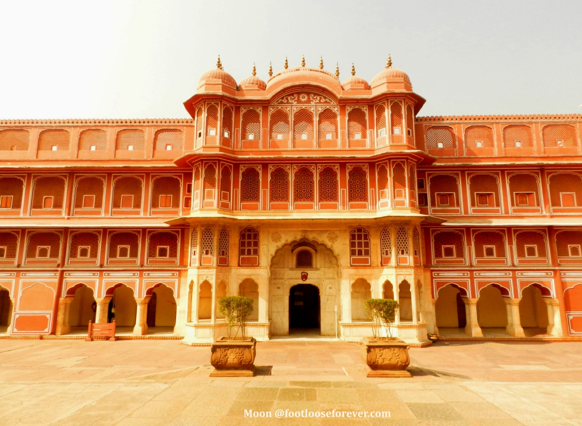 Jaipur city palace, architechture, rajasthan, India