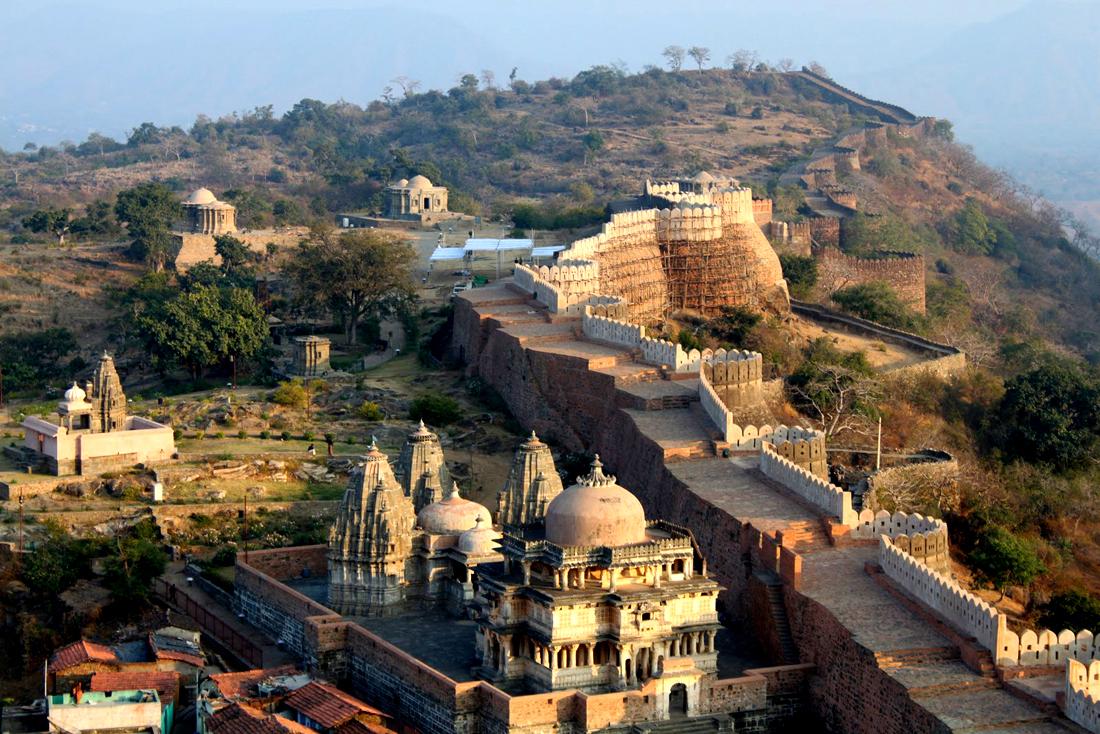 kumbhalgarh fort, udaipur, udaipur sightseeing