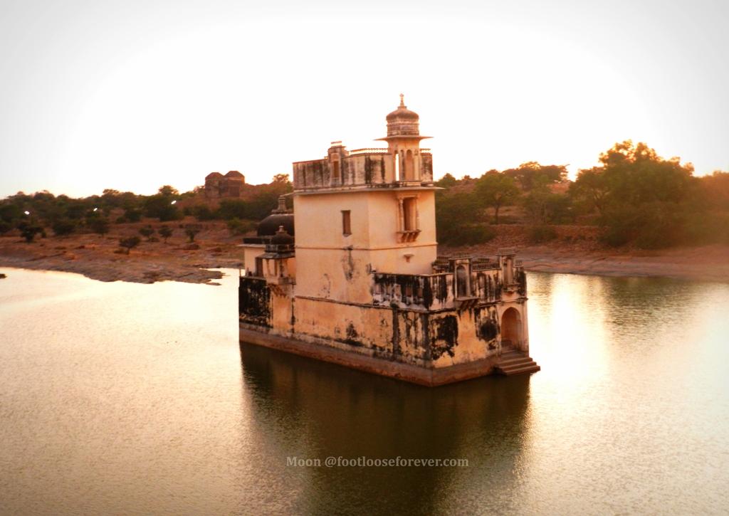 rani padmini mahal, chittorgarh, chittor, rajasthan, chittor attractions