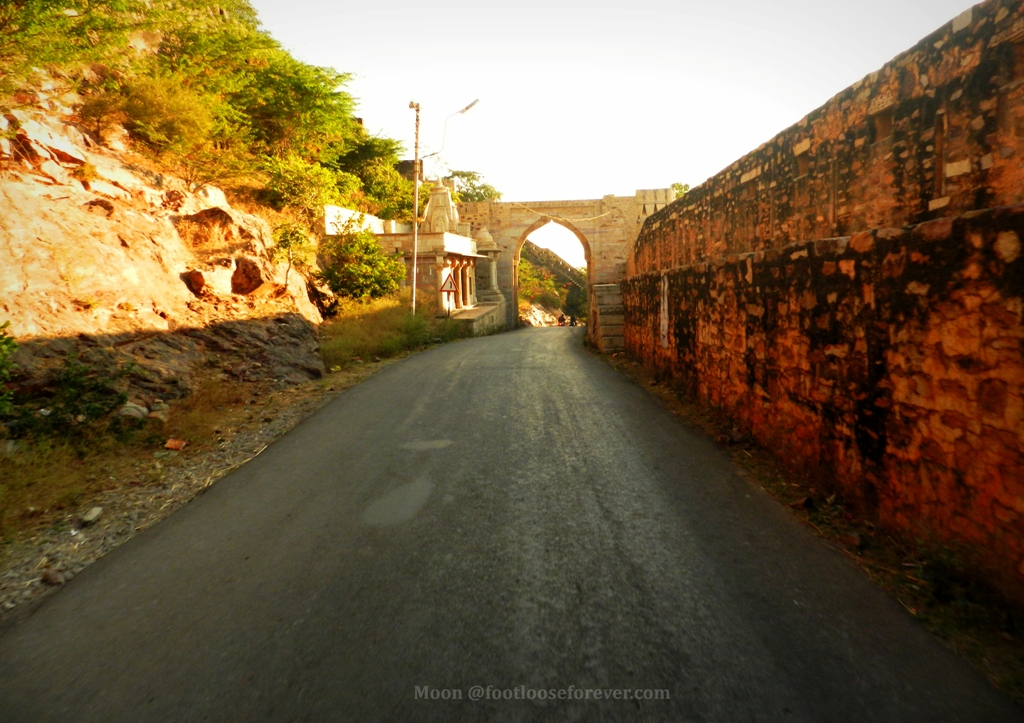 way to Chittorgarh, Chittorgarh Fort, entering chittorgarh fort