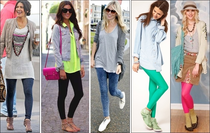 oleva leggings, leggings, coloured leggings, summer clothing