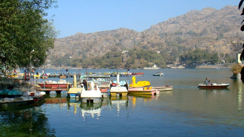 nakki lake in the morning, nakki lake, mt abu
